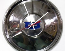 1954 Chevy Bel Air Hubcap Clock - Chevrolet Belair