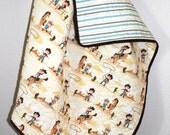 Lil Sasparilla Baby Quilt Baby Shower Gift Boy or Girl Baby Quilt Cowboy Baby Quilt Western Quilt Western Nursery Set