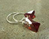 Red Magma Lochrose Earrings