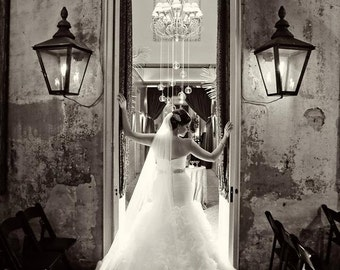 Cathedral length Wedding Bridal Veil 108 inches white, ivory or diamond