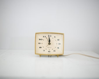 Vintage Westclox Magic Touch Alarm Clock