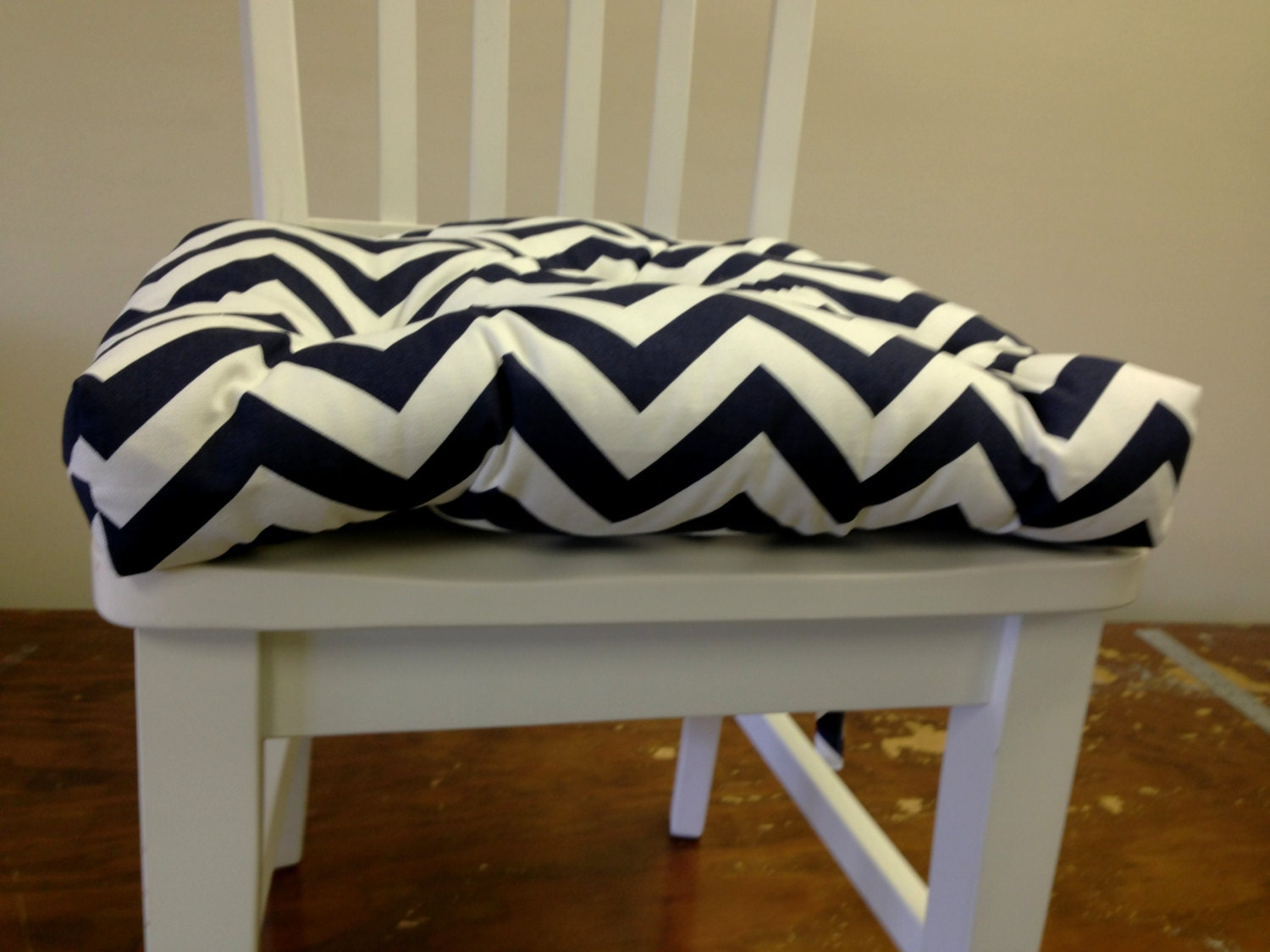 tufted chair pads seat cushions bar stool by kirtamdesigns