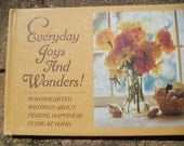 Vintage Book Everyday Joys and Wonders