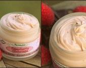 Raspberry Chocolate Body Butter. Organic, vegan, natural, yummy body moisturizer