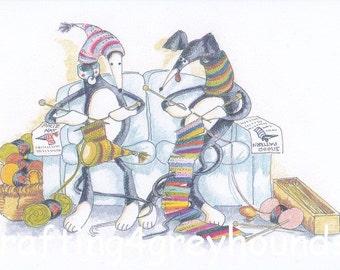 Greyhound & Galgo Greeting Cards