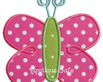 603 Butterfly Machine Embroidery Applique Design