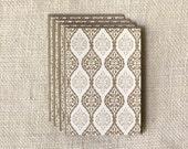 SALE 75% Off - Note Card Set - Antique Lace