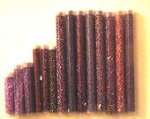 SALE 14 Tubes of Beautiful Purple Seed Beads