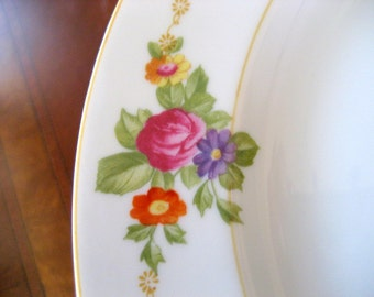 Vintage Set of 12 Luncheon/Dessert Set of China   Circa 1960s