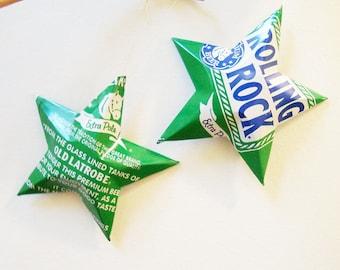 Land Shark Lager Beer Stars Christmas Ornaments By Lizardskins