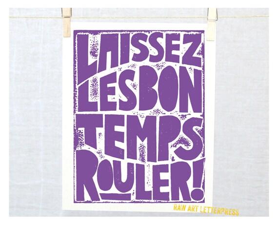 New Orleans Mardi Gras, Let the Good Times Roll, Typography Poster,  Laissez Les Bon Temps Rouler