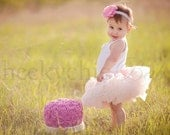 Pettiskirt VINTAGE PINK Demi by Cheeky Chic Baby