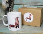 Fox Illustration Mug