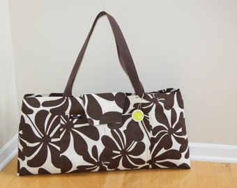 Large Yoga Bag with Quilted lining.