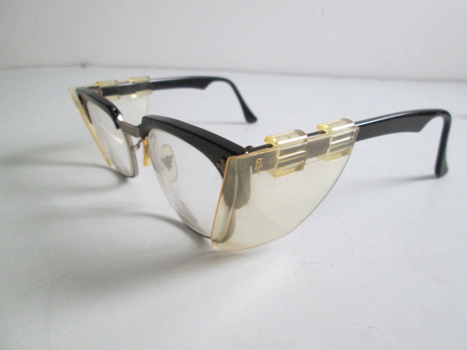 Vintage B Amp L Safety Glasses Eye Ware Rx Glasses By Thegroove