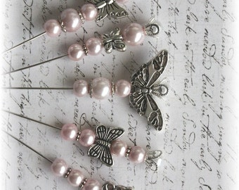 CHOOSE YOUR COLOR Butterfly Collection Stick Pins Scrapbooking,Cardmaking, Mini Album, Tag Art, Mini Album