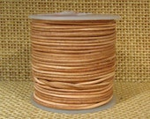 1mm Round Leather - Natural - 101
