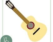 Acoustic Guitar SVG File