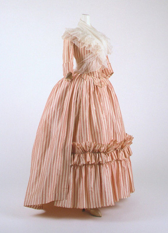 18th Century, Colonial Costume, Wedding Gown