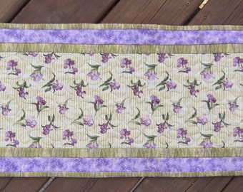 Iris Table Runner