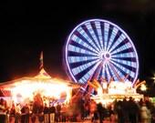 Ferris Wheel at the North Carolina State Fair - NC postcard