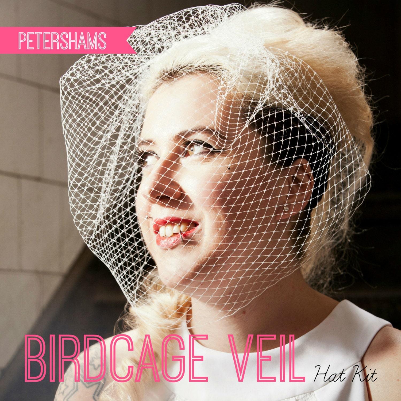 DIY Hat Kit Make Your Own Bridal Birdcage Wedding Veil