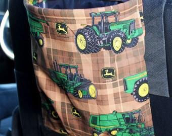 John Deere Car Trash Bag or Storage