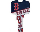 Boston Red Sox Baseball Key Blank MLB Team American League Baseball Key Blanks