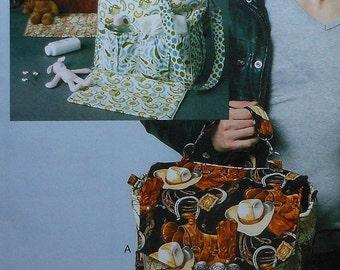 Diaper Bag Sewing Pattern UNCUT McCalls M6617