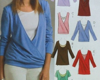 Top and Tank Top Sewing Pattern UNCUT McCalls M5271 Sizes 4-14