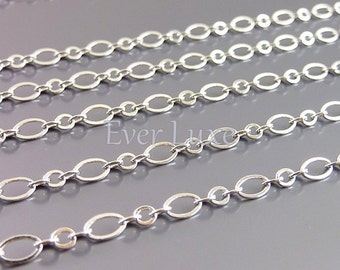 1 meter unique big and small oval link chains, designer style chains, necklace chains, jewelry / craft supplies B086-BR