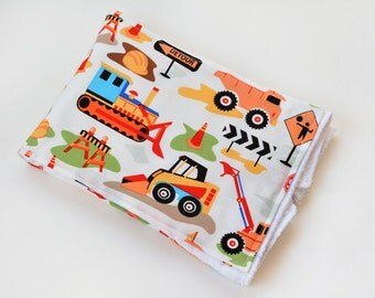 Baby Accessories Burp Cloth Construction Trucks Baby Gift Burp Rag Cloth Diaper Baby Trend New Baby