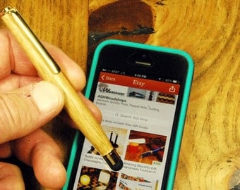 Gifts for Techies, Great Gift iphone stylus, ipad stylus, acrylic stylus Handmade touchscreen stylus, Smartphone Accessories