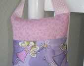 Tooth Fairy Pink Lavender Toothfairy Pillow Handmade Gift Card Holder Pink Tooth Holder