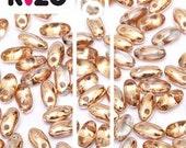 Rizo Beads, Capri Gold,  glass, #7110