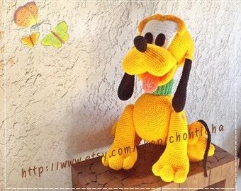 Pluto dog 22inches - PDF amigurumi crochet pattern