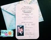 Passport Invitation Printable by Rule42