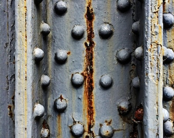 Rusting Metal, Weathered Surface Natural Abstract Limited Edition Fine Art Photo Print - Museum Quality Wall Art, Various Sizes and Finishes