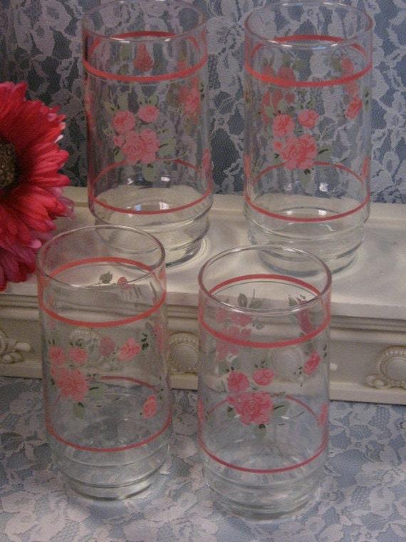 Vintage corelle ware rosa