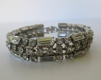 Lovely Rhinestone Bracelet