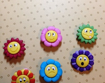 Smily Face Buttons