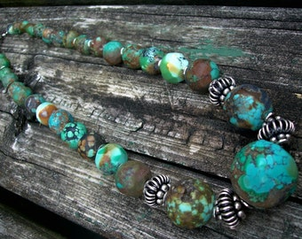 The Endless Earth Green Turquoise Gemstone Necklace