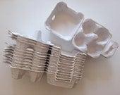 20 Egg Cartons in White -4 holding type
