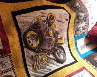Motorcycle quilt   Etsy : motorcycle quilt pattern - Adamdwight.com