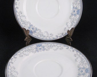 Lenox White Heather Saucers(2)