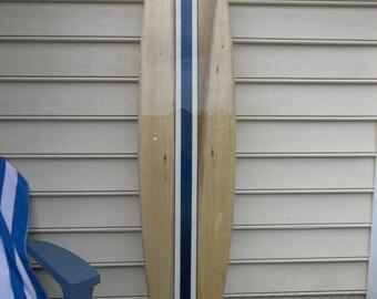 Surfboard wall hanging, six foot surfboard wall art