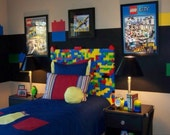 Decals for Legos Room Two Sets