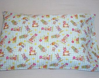 Easter Bunny Pillowcase
