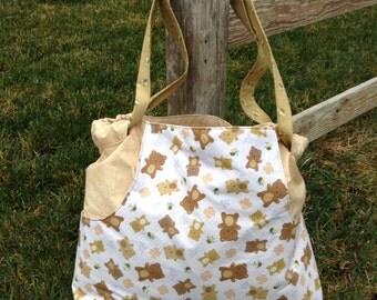 Teddy Bear Diaper Bag/Tote