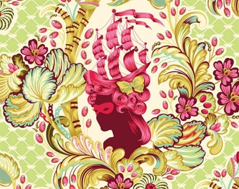 Tula Pink Parisville 1/2 yard cameo in sprout